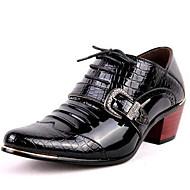 abordables Oxfords pour Homme-Homme Chaussures Formal Cuir Verni Automne / Hiver Oxfords Noir / Bleu / Soirée & Evénement / Soirée & Evénement