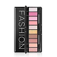 billiga Ögonskuggor-10 färger Ögonskuggor / Puder Naturlig Vardagsmakeup Smink Kosmetisk