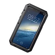 Etui Käyttötarkoitus Apple iPhone X iPhone 8 iPhone 8 Plus Vesi / Dirt / Shock Proof Kokonaan peittävä Panssari Kova Alumiini varten
