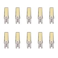 billige Bi-pin lamper med LED-10pcs 4 W 400 lm G9 LED-lamper med G-sokkel 1 LED perler COB Varm hvit / Kjølig hvit 220-240 V