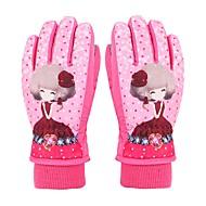 cheap Ski Gloves-Ski Gloves Children's Full-finger Gloves Keep Warm Protective Cloth Cotton Ski / Snowboard Winter
