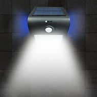 brelong solare pir lumina 24 x smd 2835 6w 500lm inoxidabil cordless corp inducție organism negru / alb / argintiu / aur