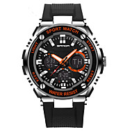 남성용 여성용 스포츠 시계 밀리터리 시계 드레스 시계 회중 시계 스마트 시계 패션 시계 손목 시계 독특한 창조적 인 시계 디지털 시계 중국어 디지털 LCD 슬라이드 규칙 달력 크로노그래프 방수 듀얼 타임 존 경보 충격 방지 별이 빛나는 큰 다이얼