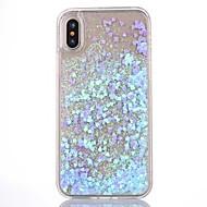 Pro iPhone X iPhone 8 iPhone 8 Plus Pouzdro iPhone 5 Pouzdra a obaly S plynem Průhledné Zadní kryt Carcasă Třpytivý Pevné PC pro iPhone X