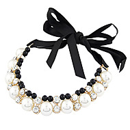 cheap Lolita Fashion Costumes-Gothic Lolita Dress Necklace Vintage Inspired Black Lolita Accessories Solid Necklace Metal