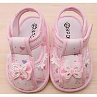 Bebê sapatos Tecido Primavera Outono Conforto Primeiros Passos Sandálias Para Casual Amarelo Claro Rosa claro Azul Claro