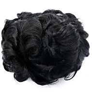 Replacement System 7*9 Body Wave 1B Color Hair Toupee for Men