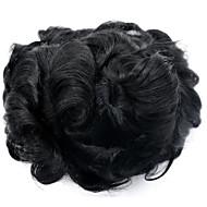 vervangingssysteem 7 * 9 body wave 1b kleur haar toupee voor mannen