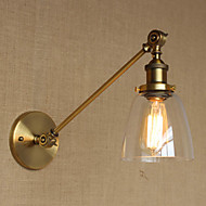 billige Vegglamper-Omgivelseslys AC 220-240 AC 110-120V E26 E27 Arkaistisk Tiffany Rustikk/ Hytte Ethnic Style Antikk Enkel Unikt design Free Form LED