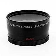 58mm unghi larg de 0,45x convertor lentilă w / macro atașament close-up pentru canon