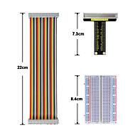 málna pi v1 board40p színes szalag kábel400 lyukú kenyérlemez