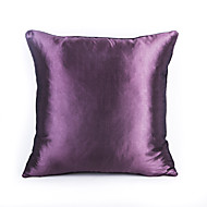 1 Pc Pure Color Imitation Silk Scarf Soft Cushion Home Decoration