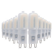 10pcs 5W G9 LED Bi-pin Lights T 22 leds SMD 2835 Decorative Warm White Cold White Natural White 300-400lm 2800-3200/4000-4500/6000-6500K