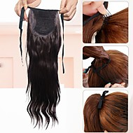 Cheap synthetic extensions online synthetic extensions for 2018 cheap ponytail one piece hairpiece hair extension synthetic long wavy brown lady synthetic fiber wig pmusecretfo Images