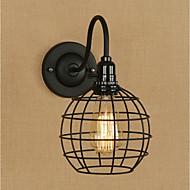 tanie Kinkiety Ścienne-Vintage Retro Tradycyjny / Classic Kraj Lampy ścienne Na Metal Światło ścienne 110-120V 220-240V 40W