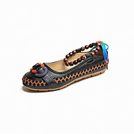 cheap Women's Flats-Women's Shoes Suede Spring Fall Comfort Flats Low Heel For Casual Dress Brown Light Yellow Black