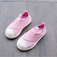 tanie Obuwie dziewczęce-Dla dziewczynek Obuwie Materiał Wiosna i lato Wygoda Adidasy na Czarny / Szary / Różowy