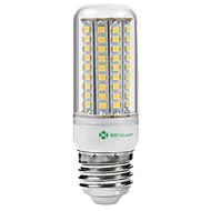 billige Kornpærer med LED-SENCART 5W 3000-3500/6500-7500lm E14 / G9 / GU10 LED-kornpærer Innfelt retropassform 102 LED perler SMD 2835 Vanntett / Dekorativ Varm