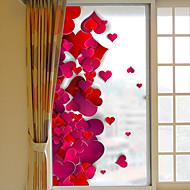 tanie סרטים ומדבקות לחלון-Art Deco Święta Bożego Narodzenia Naklejka okienna, PVC/Vinyl Materiał Dekoracja okna Salon