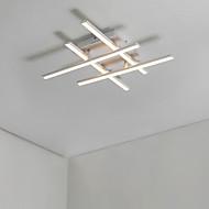 billige Taklamper-4-Light Lineær Takplafond Omgivelseslys - Matt, Pære Inkludert, designere, 110-120V / 220-240V, Varm Hvit / Kald Hvit, LED lyskilde