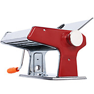 Kitchen Red Stainless Steel Multifunctional Manual Noodle Maker Machine