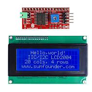 CII / i2c lcd série visor do módulo 2004  (para arduino) (funciona com oficial (para Arduino) placas)