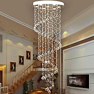 billige Takbelysning og vifter-7-Light Krystall Lysekroner Nedlys - Krystall, Pære Inkludert, designere, 110-120V / 220-240V, Varm Hvit / Kald Hvit, Pære Inkludert