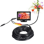 AV endoscop camera 5v 5.5mm lentilă mini camera ntsc impermeabil ip66 inspecție borescope șarpe țeavă cam viziune noapte 20m cablu