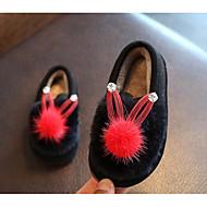 baratos Sapatos de Menina-Para Meninas Sapatos Pêlo Outono / Inverno Conforto Chinelos e flip-flops para Cinzento / Rosa claro / Vinho