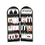 billige Lagring og oppbevaring-ørering kjede armbånd smykker emballasje henger arrangør sammenleggbar lagring holder display stativ rack gave
