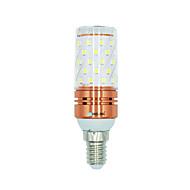 billige Kornpærer med LED-BRELONG® 1 stk 12W 1000 lm E14 LED-kornpærer 60 leds SMD 2835 Varm hvit Hvit Dual Light Source Color AC 220-240V
