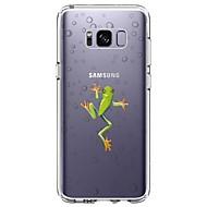 Capinha Para Samsung Galaxy S8 Plus S8 Ultra-Fina Transparente Estampada Capa Traseira Animal Macia TPU para S8 S8 Plus S7 edge S7 S6