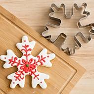 billige Bakeredskap-Cookieverktøy Jul Nisse drakter Blomst 3D for Sandwich For Godteri Til Småkaker Til Småkake Brød Rustfritt Stål Barn GDS Høsttakkefest
