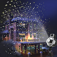 LED Snowfall Projector Lights IP65 Waterproof Sparkling Landscape Projection Light
