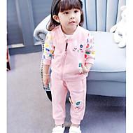 Dívčí Bavlna Ostatní Podzim Soupravy Sady oblečení