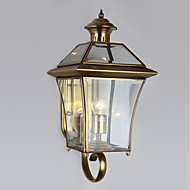 billige Vegglamper-Land Vegglamper Metall Vegglampe 110-120V / 220-240V 40W