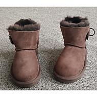 男の子 靴 ヌバックレザー 秋 冬 スノーブーツ ブーツ 用途 カジュアル ブラック グレー コーヒー アーモンド