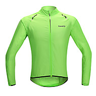 SANTIC Muškarci / Žene / Uniseks Biciklistička jakna Bicikl Jakna / Napvédő ruha / Raincoat Vodootporno, Quick dry, Vjetronepropusnost