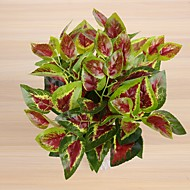 2 bunch Scindapsus leaves 7 forked spring grass 3 colour  35cm Home Decoration