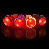 sykkel glødelamper LED LED Sykling Glimt Vannavvisende Justerbar Størrelse Kreativ Med bryter AG10 Lumens AG10 Rød Sykling