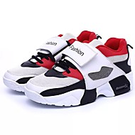Miehet kengät Tyll Kevät Syksy Valopohjat Urheilukengät Kävely varten Urheilullinen Valkoinen Musta Punainen