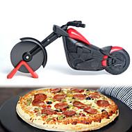 billige Bakeredskap-Pizzaverktøy Motorsykkel For Godteri for Pizza Til Kake Pizza Pai Rustfritt Stål + A-klasse ABS
