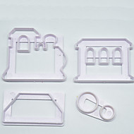 billige Bakeredskap-Bakeware verktøy Plastikker Enkel Til Småkake Pieverktøy