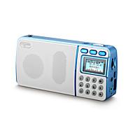 NOGO R908 Alto Falanto Barulhento Radio FM Multi-Função Carregando Leve e conveniente Decoração de mesa Não micro USB AUX 3.5mm Espaço de