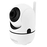 billige Innendørs IP Nettverkskameraer-VESKYS 1.0 MP Innendørs with IR-kutt 64(Innebygd høyttaler Innebygget mikrofon Dag Nat Bevegelsessensor Fjernadgang Plug and play IR-klip