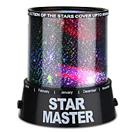 billige Innendørs LED-lys-Stjernehimmellampe Stjernelampe LED-belysning Star Light Projector Fargerike Twilight Plast ABS Gutt Leketøy Gave