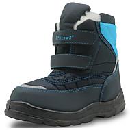 男の子 靴 レザーレット 秋 冬 スノーブーツ コンフォートシューズ ブーツ 用途 カジュアル グリーン ネービーブルー