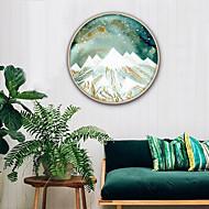 baratos -Paisagem Fantasia Ilustração Arte de Parede,PVC Material com frame For Decoração para casa Arte Emoldurada Sala de Estar Cozinha Sala de