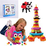 halpa -Uusi bunchems hyvä paketti uudisrakennus lelu 370 kappaletta DIY lasten leikkiä 36 lisätarvikesarja lapsille paras lahja