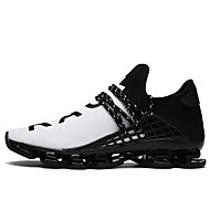 cheap Men's Shoes-Men's Shoes Tulle Spring Summer Comfort Sneakers Walking Shoes for Casual Black Black/White Black/Red